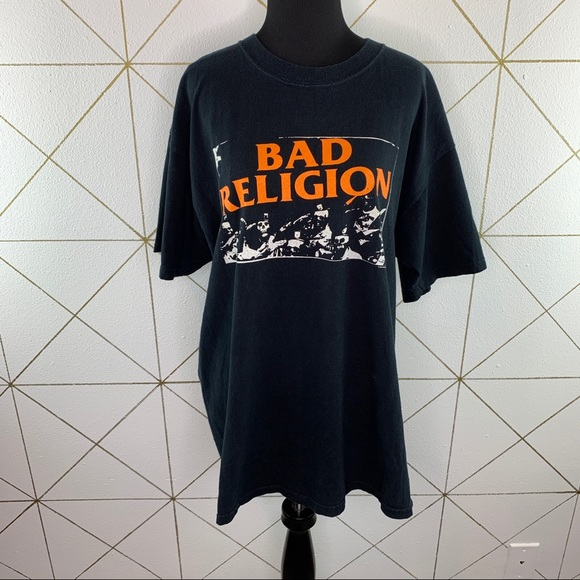 Anvil Bad Religion They'll Go Anywhere Tee XL